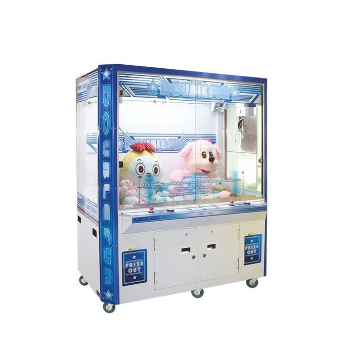 Coin Operated Crane Game Gift Vending Machine For Entertainment Place