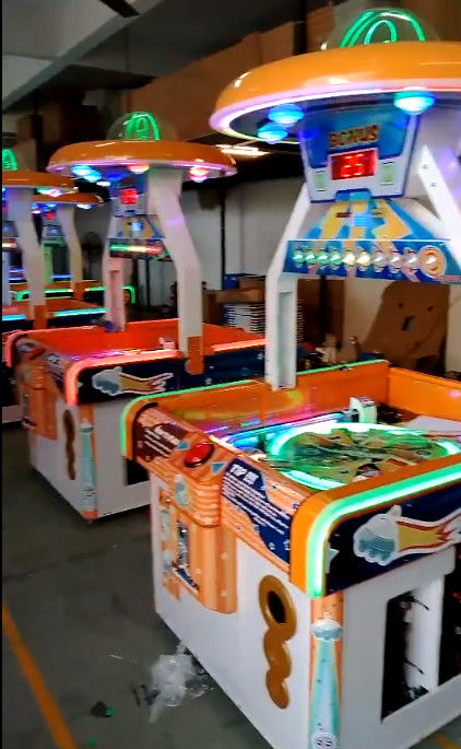UFO Dream Redemption Arcade Machines For 2 Players 110V 220V Orange Color