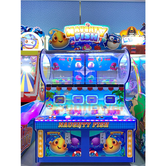 Attractive Amusement Park Machines , Kids Ball Shooting Game Machine