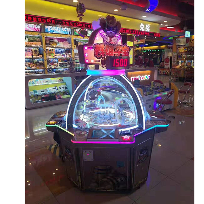 Customized Lottery Ticket Machine For Entertainment / Coin Operated Arcade Game 0
