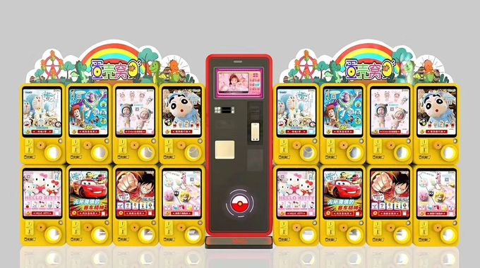 Scan To Pay Lucky Twisted Capsule Vending Machine In Ireland For Cinema Token Payment 3