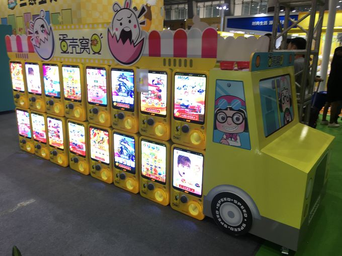 Scan To Pay Lucky Twisted Capsule Vending Machine In Ireland For Cinema Token Payment 2